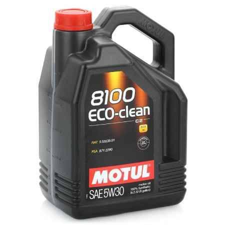 Купить Моторное масло MOTUL 8100 Eco-Clean 5W30, 5 л, синтетическое