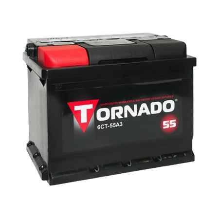 Купить Аккумулятор TORNADO 6 СТ-55 АЗ п/п.