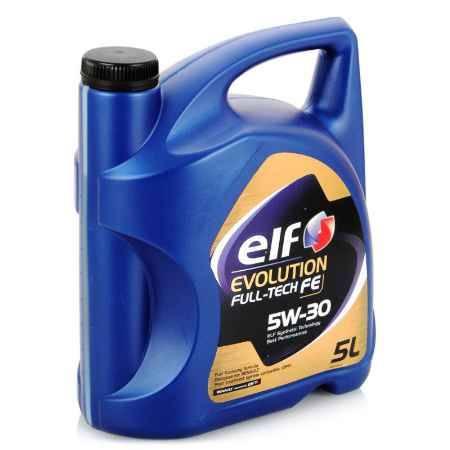 Купить Моторное масло ELF Evolution Full Tech FE 5W/30, 5 л, синтетическое
