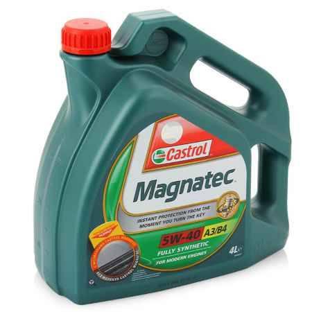 Купить Моторное масло Castrol Magnatec 5W/40 A3/B4, 4 л, синтетическое
