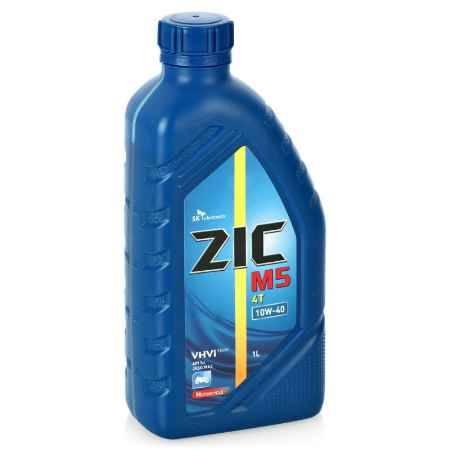 Купить Моторное мото масло Zic M5 4T 10w40, 1 л