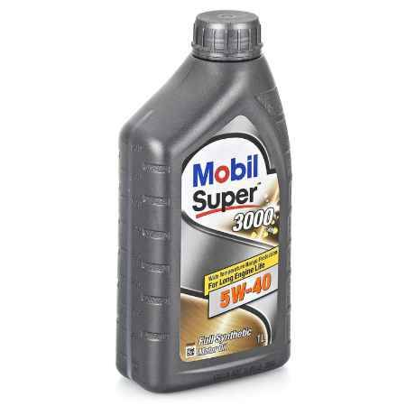 Купить Моторное масло Mobil SUPER 3000 X1 5W/40, 1 л, синтетическое