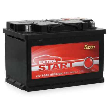 Купить Аккумулятор Extra Start 6СТ-74N L+ (L3)