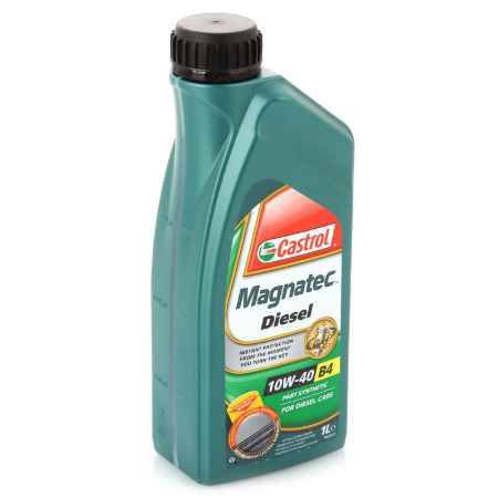 Купить Моторное масло Castrol Magnatec Diesel 10W/40 B4, 1 л, полусинтетическое