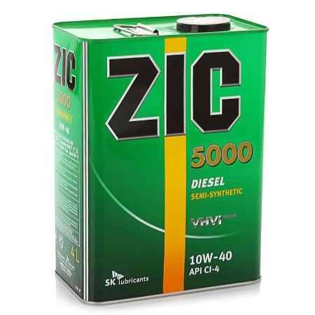 Купить Моторное масло ZIC 5000 10W/40 CI-4, 4 л