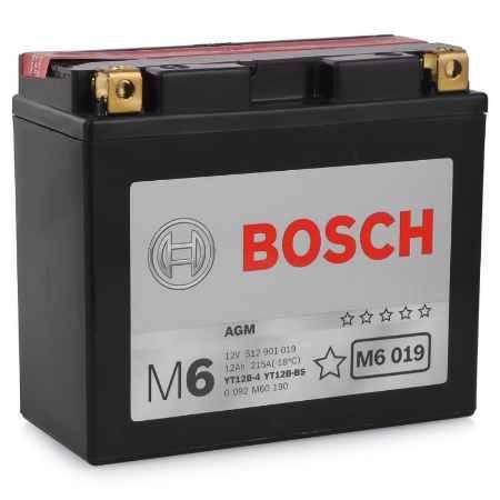 Купить Аккумулятор BOSCH 12V 512 901 019 (M6 019) AGM -12Ач