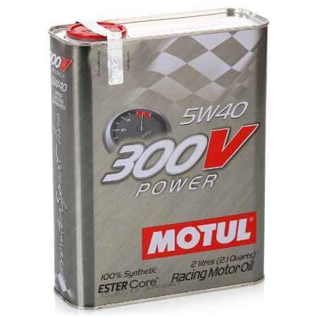 Купить Моторное масло MOTUL 300V Power 5w40, 2 л, синтетическое