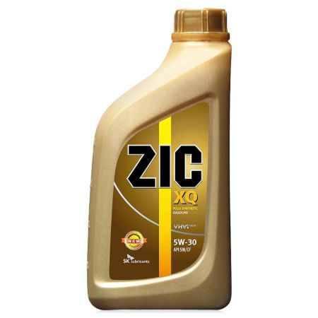 Купить Моторное масло ZIC XQ 5W/30 SM/CF, 1 л, синтетическое