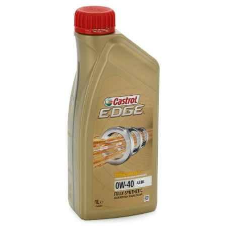 Купить Моторное масло Castrol EDGE Titanium FST 0W/40 А3/В4, 1 л, синтетическое
