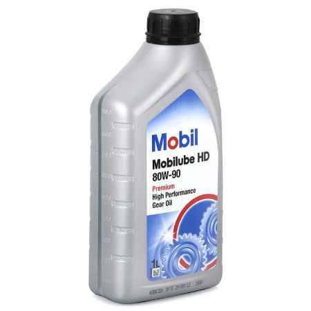 Купить Трансмиссионное масло 80W-90 Mobil Mobilube HD, 1 л