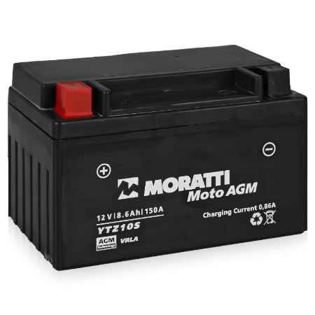 Купить Аккумулятор Moratti VRLA (AGM)12V (YTZ10S) - 8.6Ач