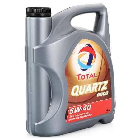 Купить Моторное масло Total Quartz 9000 5W/40, 4 л, синтетическое