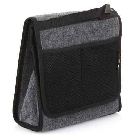 Купить Органайзер в багажник Autoprofi Travel ковролиновый, 28х13х30см, серый
