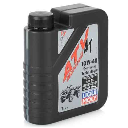 Купить Моторное мото масло для 4Тдвигателей LIQUI MOLY HC ATV 4T Motoroil 10W-40 SL/MA-2, 1 л, синтетическое (7540)