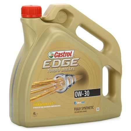 Купить Моторное масло Castrol EDGE Titanium FST 0W/30 С2,С3 TD, 4 л, синтетическое