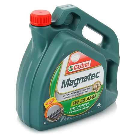 Купить Моторное масло Castrol Magnatec 5W/30 A3/B4, 4 л, синтетическое