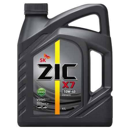 Купить Моторное масло ZIC X7 DIESEL 10W-40 4л синтетическое
