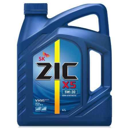 Купить Моторное масло ZIC X5 5W-30 4л полусинтетическое