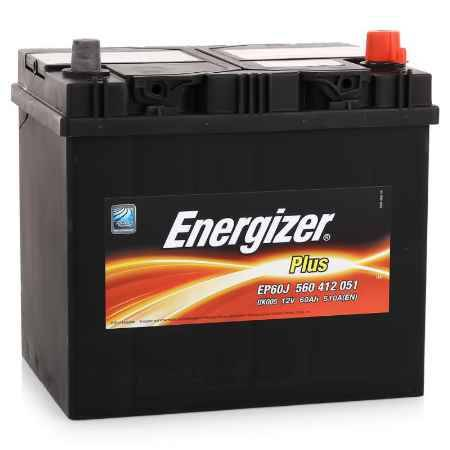 Купить Аккумулятор ENERGIZER PLUS 560 412 051  - 60Ач