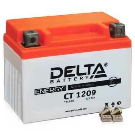 Купить Аккумулятор Delta CT 1209 12V 9а/ч (YTX9-BS) AGM