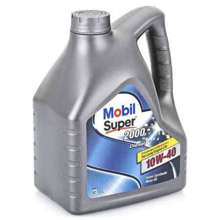 Купить Моторное масло Mobil SUPER 2000 X1 DIESEL 10W/40, 4 л, полусинтетическое