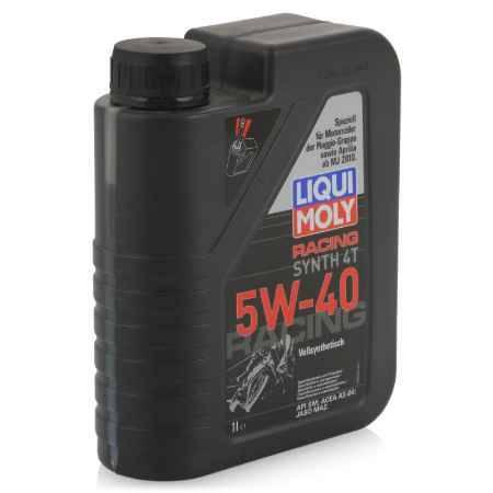 Купить Моторное мото масло LIQUI MOLY Racing Synth 4T 5W-40 SL;A3-04;MA-2, 1 л, синтетическое (2592)