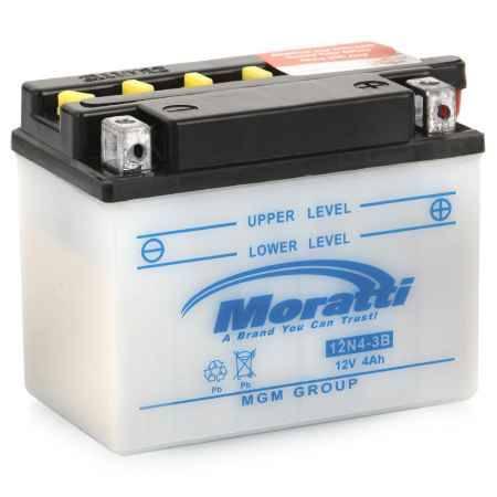 Купить Аккумулятор Moratti 12V (12N4-3B) - 4Ач