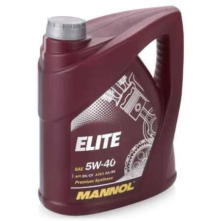 Купить Моторное масло Mannol Elite 5W/40, 4 л, синтетическое