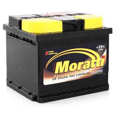 Купить Аккумулятор Moratti 55а/ч п.п.