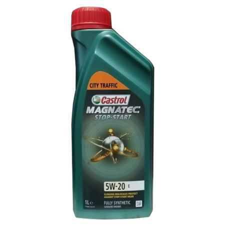 Купить Моторное масло Castrol Magnatec Stop-Start E 5W/20, 1 л, синтетическое,