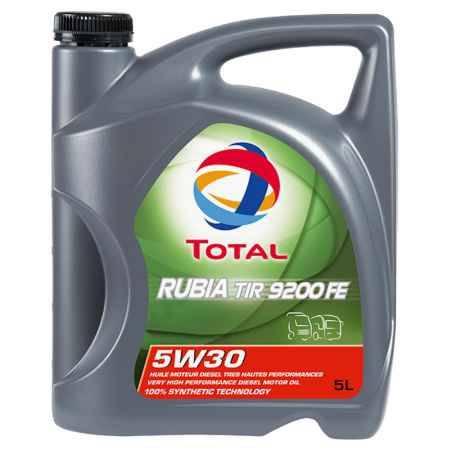 Купить Моторное дизельное масло Total Rubia TIR 9200 FE 5w-30, 5л