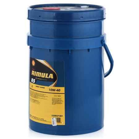 Купить Моторное дизельное масло Shell Rimula R5 Е 10W-40, 20 л