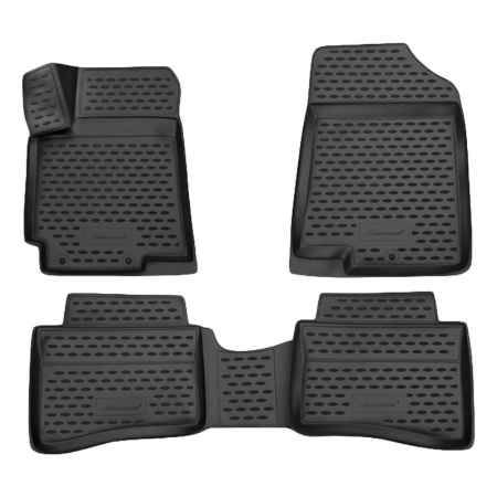 Купить Коврики 3D в салон Novline  Jeep Grand Cherokee 2014->, полиуретан, 4 шт, NLC.3D.24.09.210