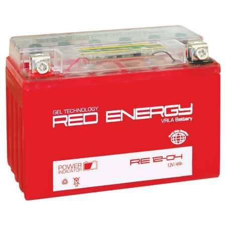 Купить Аккумулятор Red Energy RE 1204 12V 4а/ч (YTX4L-BS) GEL