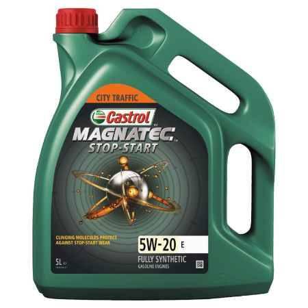 Купить Моторное масло Castrol Magnatec Stop-Start E 5W/20, 5 л, синтетическое,