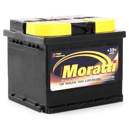 Купить Аккумулятор Moratti 55а/ч о.п.