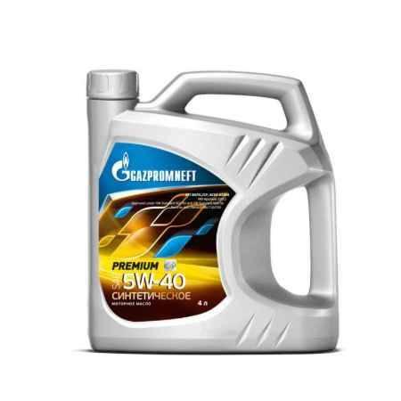 Купить Моторное масло Gazpromneft Premium 5W40 SN/CF (SM/CF), A3/B4, 4л синтетическое