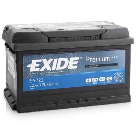 Купить Аккумулятор EXIDE Premium EA722 12V 72Ah 720A R+