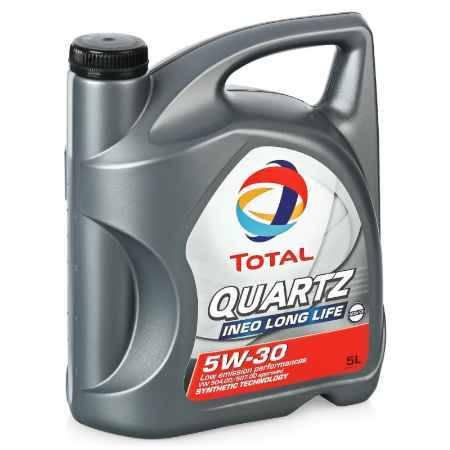 Купить Моторное масло Total Quartz Ineo Long Life  5W/30, 5 л, синтетическое