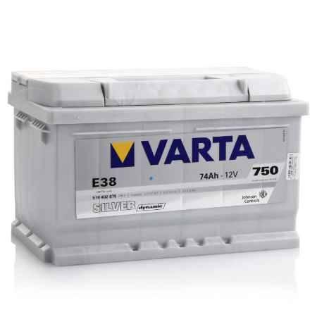 Купить Аккумулятор VARTA Silver dynamic E38