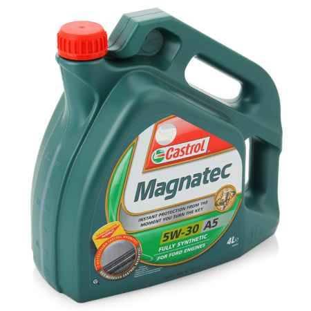 Купить Моторное масло Castrol Magnatec 5W/30 A5, 4 л, синтетическое