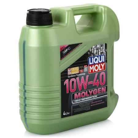 Купить Моторное масло LIQUI MOLY Molygen New Generation 10W/40 SL/CF;A3/B4, 4 л, НС-синтетическое (9060)