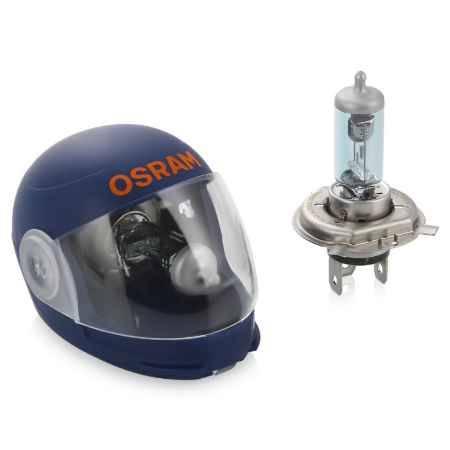 Купить Мотолампа Osram H4 X-Racer 4000K, эффект ксенона, 60/55W, 2шт, 64193XR-02B