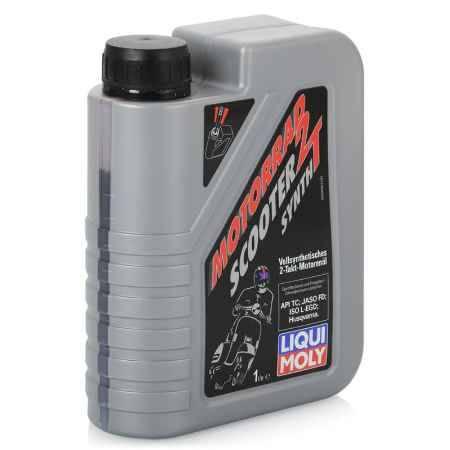 Купить Моторное мото масло LIQUI MOLY Motorrad Scooter 2T Synth  TC, 1 л, синтетическое (3990)