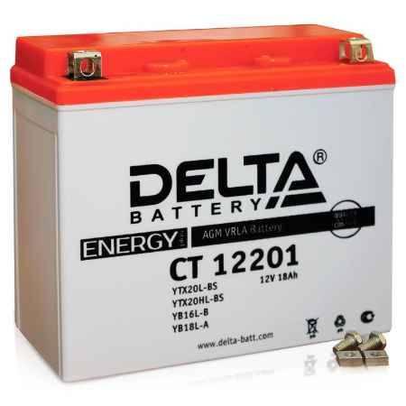 Купить Аккумулятор Delta CT 12201 12V 18а/ч (YTX20L-BS) AGM