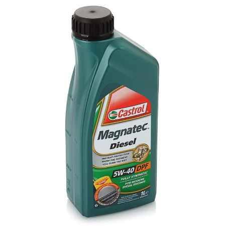 Купить Моторное масло Castrol Magnatec Diesel 5W/40 DPF, 1 л, синтетическое