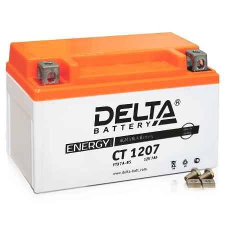 Купить Аккумулятор Delta CT 1207 12V 7а/ч (YTX7A-BS) AGM
