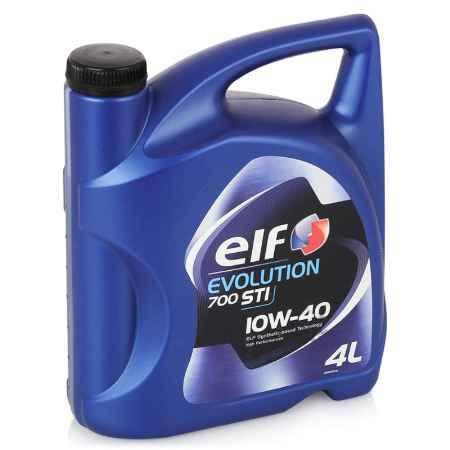 Купить Моторное масло ELF Evolution 700 STI 10W/40, 4 л, полусинтетическое