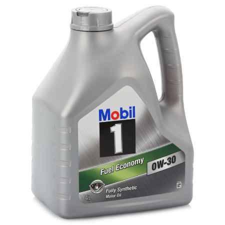 Купить Моторное масло Mobil 1 FE 0W/30, 4 л, синтетическое