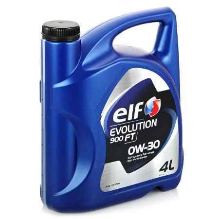 Купить Моторное масло ELF Evolution 900 FT 0W/30, 4 л, синтетическое